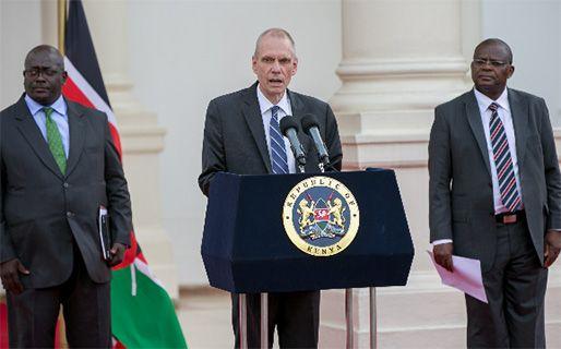 """Ambasciatore Usa in Kenya: """"Alle elezioni vinca la pace"""""""