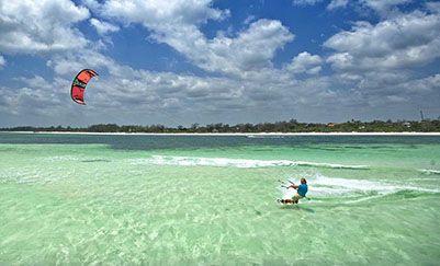 Kite, pesca d'altura, ambiente e sole
